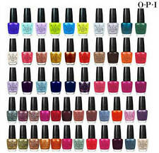 OPI Nail Polish/Lacquer in Color of Your Choice .5 ml - 5 pack (U-Y)
