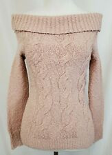 NEW Free People Off-The-Shoulder Cable Knit Sweater NWT