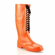 Ladies Womens Waterproof Wellies Winter Rain Snow Festival Wellington Boots Size