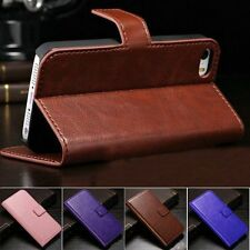 Magnetic PU Leather Wallet Card Sloct Kickstand Case Cover for iPhone5 5s SE Cap