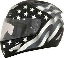 AFX FX95 FLAG Full-Face Motorcycle Helmet (Stealth) Choose Size