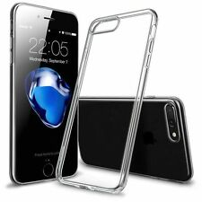 New Transparent Crystal Clear Apple iPhone 7,7 Plus,6,6s,5,5s Gel TPU Soft Cover