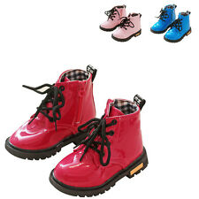 KAYI Baby Toddler Girls Boys Martin Boots Kids Children Zip Up Casual Shoes New