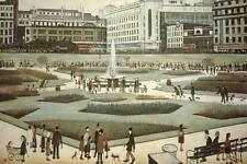 Piccadilly Gardens Giclee Print by Lowry, Laurence Stephen