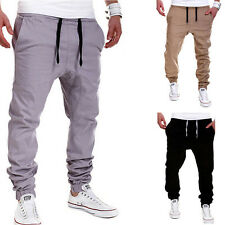 New Young Men's Sports Straight Harlan Pants Fashion Casual Trousers Carpenter