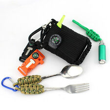 31 in 1 Gear Paracord Emergency Kit Tools Survival Kit