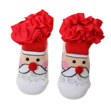 Christmas Baby Bootees Booties Sock Soft Cotton Lovely Newborn Infant Socks Gift