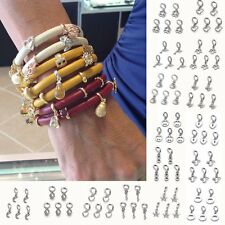 Hot Sell 5pcs Jewelry Charm Spacer Silver Beads Pendant For Chain Bracelet Gifts