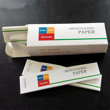 Useful Dental Articulating Paper Thin Strips 20 sheets/book 10 books/Box MALLS