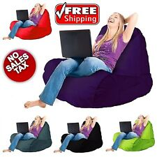 Bean Bag Chair for Adults and Kids Home Indoor Outdoor Comfort Sofa Lounger Foam