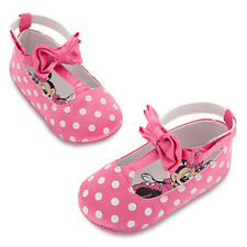 NWT Disney Store Minnie Mouse Pink Baby Costume Shoes 6 12 18 24 mo
