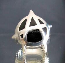 STERLING SILVER RING ANARCHY IN THE UK PUNK SEX PISTOLS SUBS EXPLOITED REBEL BE