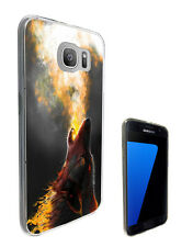 2999 Wolf Fox Dog Howling Case Cover For Samsung Galaxy J3 J5 A3 A5 S6 S7 Edge