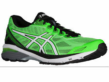 NEW MENS ASICS GT-1000 V5 GEL RUNNING SHOES TRAINERS GREEN GECKO / WHITE / BLACK