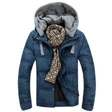 SALE Men's duck down hoody Overcoat Winter warm jacket coat outwear hooded