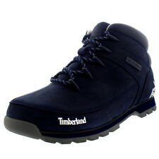 Mens Timberland Euro Sprint Hiker Winter Black Casual Ankle Boots US 7.5-13.5