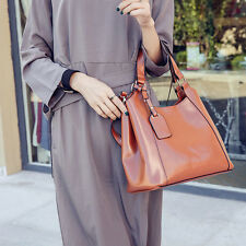 PU Leather Women Handbag Vintage Shoulder Shopping Bags Women Casual Tote Bags