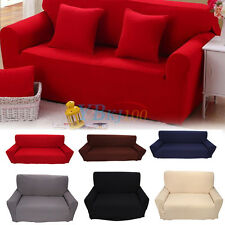 Removable Elastic Stretch Home 1/2/3/4 Seater Slipcover Sofa Couch Protect Cover