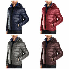 Tommy Hilfiger Men's Performance Puffer Zip Front Packable Jacket Hooded