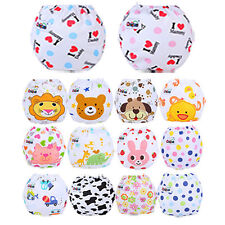 Adjustable Baby Kid Infant Training Pee Potty Cloth Diaper Pants Button Nappy