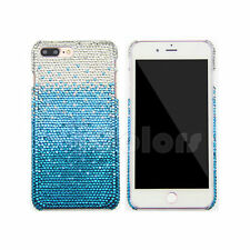 Blue Crystal Bling Case Cover For iPhone 6 6s 7 7 Plus Made w/ SWAROVSKI ELEMENS