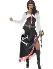 Sultry Pirate Lady Costume Ladies Fever Sexy Fancy Dress Pirates Dress Up Outfit