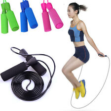 Aerobic Exercise Boxing Gym Skipping Jump Rope Adjustable Bearing Speed Fitness
