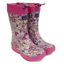 Joules Fleece Lined Girls Ditsy Wellies