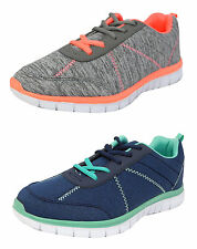 Womens Ladies Lightweight Shoes Lace Up Trainers Memory Foam Size 3 4 5 6 7 8