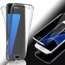 360 Full Body Shockproof Protective Soft TPU Case Cover Skin For Samsung Galaxy