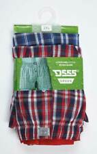 D555 Pack of Two Mens Woven Boxer Shorts (PLAID)