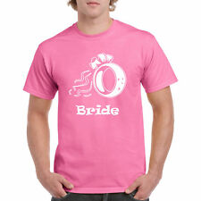 Shirt T Bride Ring S Wifey Gift Wife Shower New Party Tee Marriage Wedding Vows