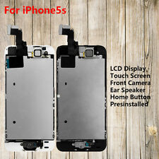 LCD Display+Touch Screen+Camera+Home Button Full Replacement Parts for iPhone5S
