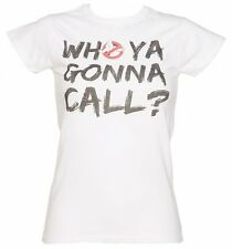Official Women's Who Ya Gonna Call Ghostbusters T-Shirt