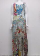 NWT Johnny Was Silk Patchwork Maxi Dress - S / M - JW18211016