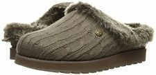 Women's BOBS Sketcher 31204W/TPE Wide Keepsakes Ice Angel Slipper Taupe B.New