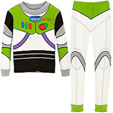 NWT Disney Store Boys Toy Story Buzz Lightyear Costume PJ Pal Pajama Set