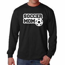 T Shirt Soccer Mom S Long Sleeve Best Tee Player Mother Gift Mama Ball Support V