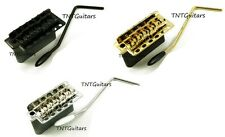 Wilkinson Strat 5+1 TREMOLO Bridge, Steel Block Trem System WV6-SB, Color Choice