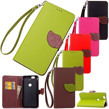Luxury Magnet PU Leather Wallet Card Stand Case Cover For Google Nexus 6P 6 5X 5
