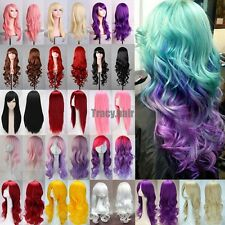 Fashion Women's Wigs Multi-Color Curly Anime Cosplay Party Costume Hair Wig HGS1