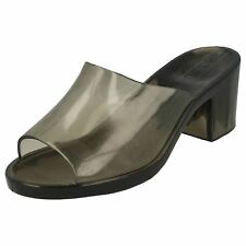 Ladies Spot On Heeled Jelly Shoes
