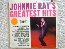 Johnnie Ray's  Greatest Hits LP Album CL 1227, 1969, Columbia Records