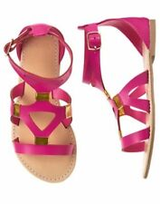 NWT Gymboree SPICE MARKET Girls Pink Gladiator Sandals Fuschia 10,11,12,13,1,2