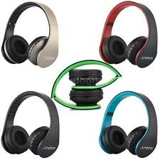 Wireless Bluetooth Stereo Headset Headphones w/ Mic MP3 SD FM for iPhone Samsung