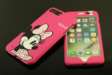 Pink Minnie Mouse Full Front + Back case cover Defender for Apple iPhone 7 /Plus
