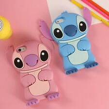 For iPhone 7 7Plus Cute Cartoon Disney Stich Star Monster Soft Rubber Case Cover