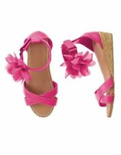 NWT Gymboree Desert Dreams Flower Espadrille Wedge Sandals Shoes Girls