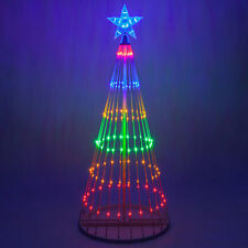 Christmas Light Show Tree Multicolor LED Animated Outdoor Lightshow Decoration