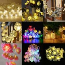 Battery Operated Wedding Party String Lamp Fairy Light Christmas Tree Decoration